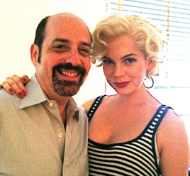 David Krane and Michelle Williams