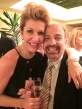 With opera star Joyce DiDonato in London who premiered two of my songs at Wigmore Hall.
