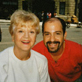 With the magnificent Angela Lansbury from the set of <em>Mrs. Santa Claus</em>